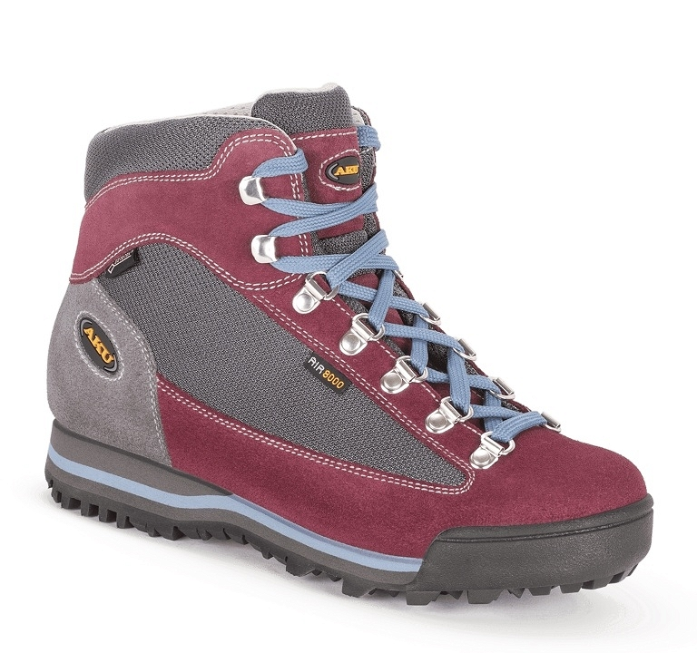 Buty damskie Aku Ultra Light Micro GTX - anthracite/violet