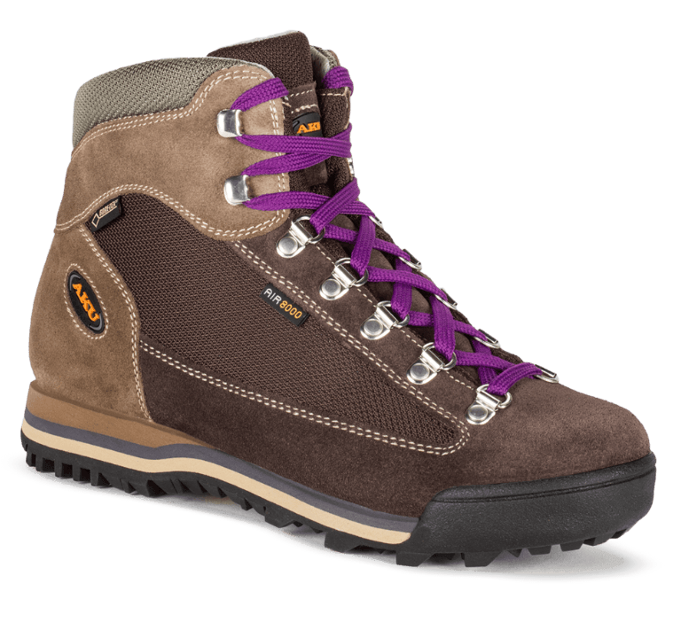 Buty damskie Aku Ultra Light Micro GTX - brown/violet