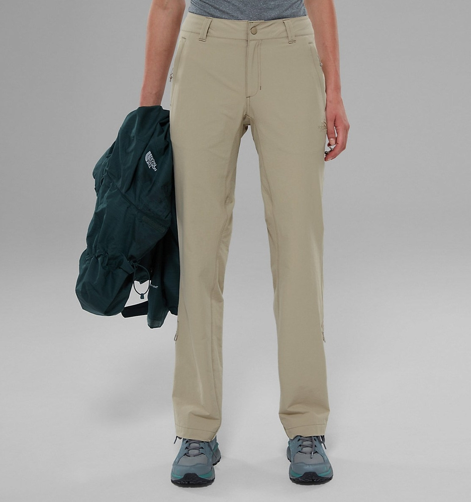 Spodnie damskie The North Face Exploration Pant - dune beige - przód