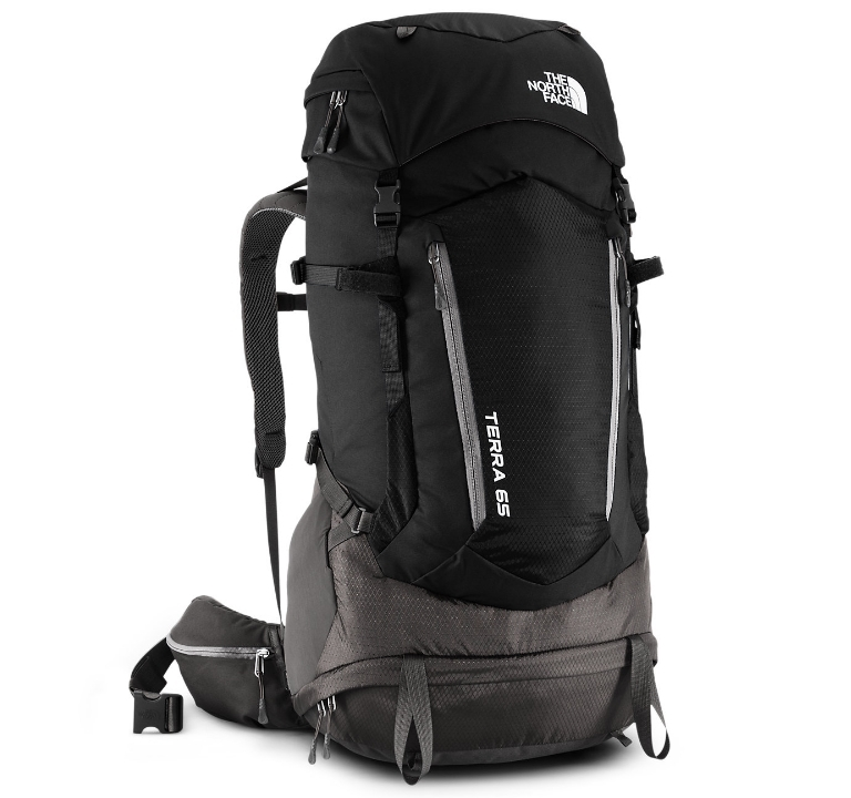 Plecak The North Face Terra 65 - tnf black/asphalt grey