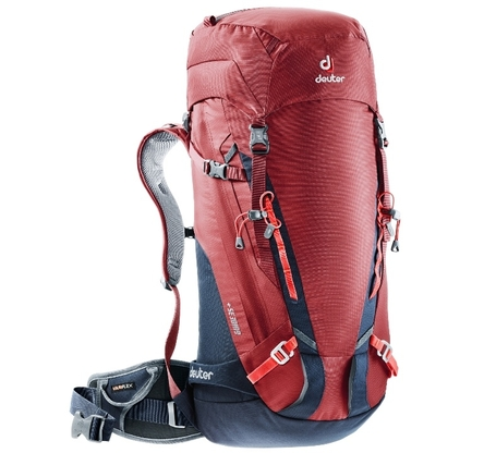 Plecak Deuter Guide 35+ - cranberry/navy