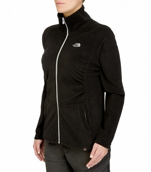 Polar damski The North Face Mezzaluna Full Zip Fleece