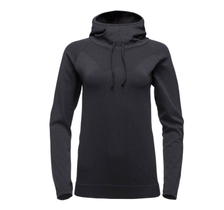 Bluza damska  Black Diamond Crux Hoody  - carbon