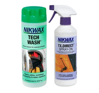 Zestaw Nikwax Tech Wash + TX.Direct 300ml