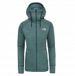 Bluza damska The North Face Hikesteller Midlayer - ponderosa green/trellis green