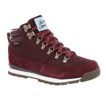 Buty damskie The North Face Back-To-Berkeley Redux - deep garnet red/stratosphere blue
