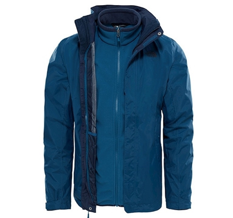 Kurtka The North Face Evolution Triclimate II - monterey blue