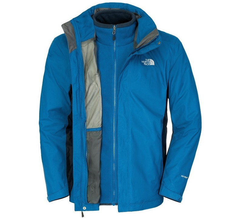 Kurtka The North Face Evolution Triclimate II - snork blue/cosmic blue