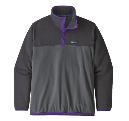 Polar Patagonia Micro D Snap-T Pullover - forge grey