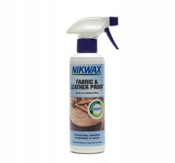 Impregnat do tkanin i skóry Nikwax Fabric & Leather 300 ml
