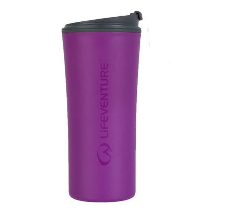 Kubek Lifeventure Ellipse Travel Mug - purple
