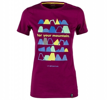 Koszulka damska La Sportiva For your Mountain T-shirt SS