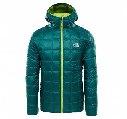 Kurtka The North Face Kabru Hoody Down Jacket - botanical garden green