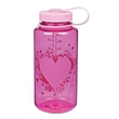 Butelka Nalgene Wide Mouth 1000 ml - heart pink