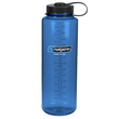 Butelka Nalgene Wide Mouth 1500ml - blue tritan black
