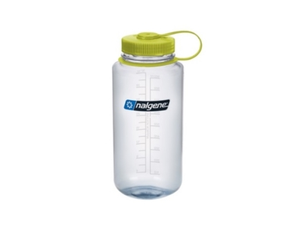 Butelka Nalgene Wide Mouth 1000 ml - clear/green