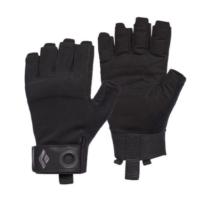 Rękawiczki Black Diamond Crag Half-Finger '20 - black