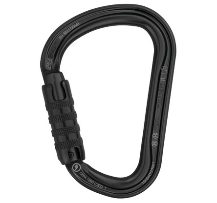Karabinek Petzl William Triact Lock - czarny