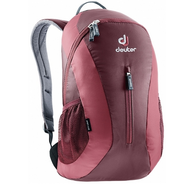 Plecak Deuter City Light - maron/cardinal