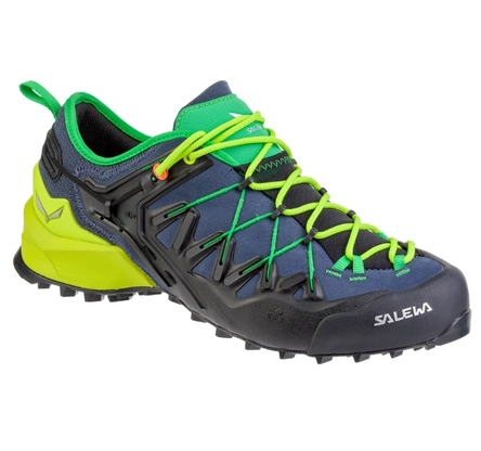 Buty Salewa Wildfire Edge - ombre blue-fluo yellow