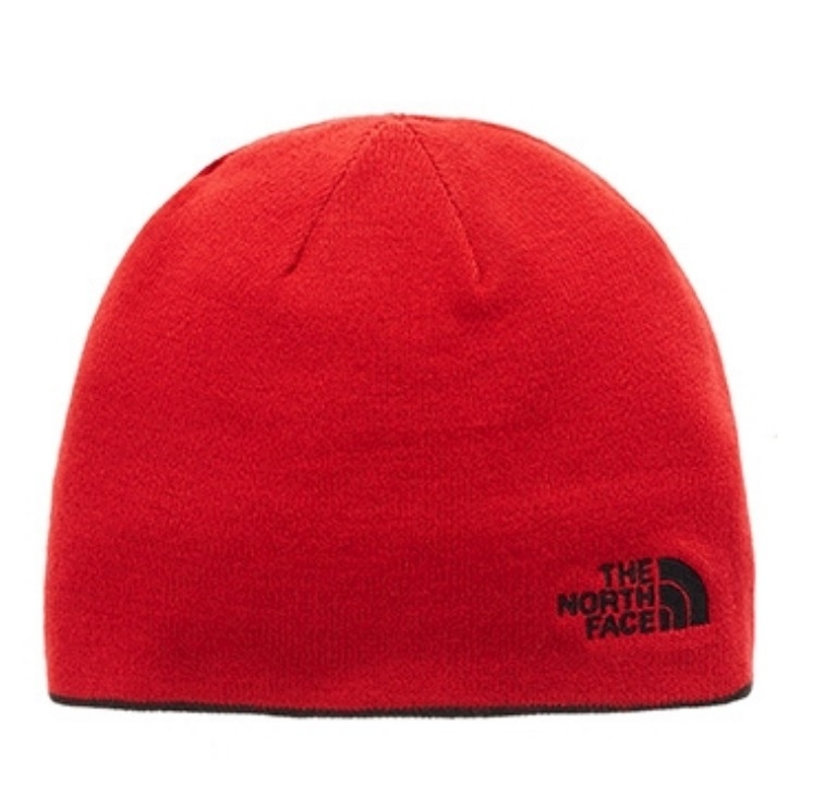Czapka The North Face Reversible Banner Beanie - tnf black/tnf red - druga strona