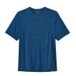Koszulka Patagonia Cap Cool Daily Graphic Shirt - up hight endurance/superior blue x-dye