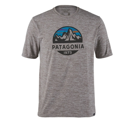 Koszulka Patagonia Cap Cool Daily Graphic Shirt - Fitz Roy Scope: Fetaher Grey