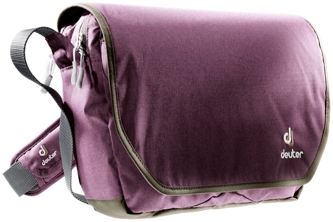 Torba Deuter Carry Out - aubergine/brown