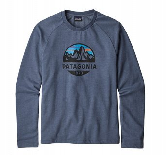Koszulka Patagonia Fitz Roy Scope LW Crew Sweatshirt