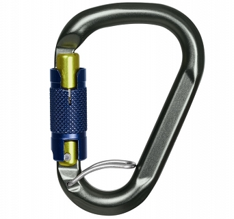 Karabinek Salewa Belay Twist Lock