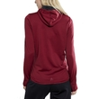 Bluza damska Craft Eaze Sweat Hood Jacket - tył