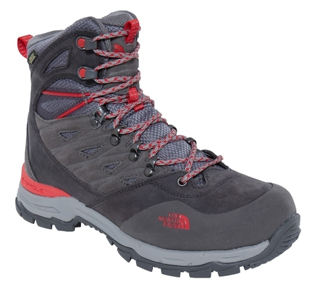 Buty damskie The North Face Hedgehog Trek GTX - dark gull grey/melon red