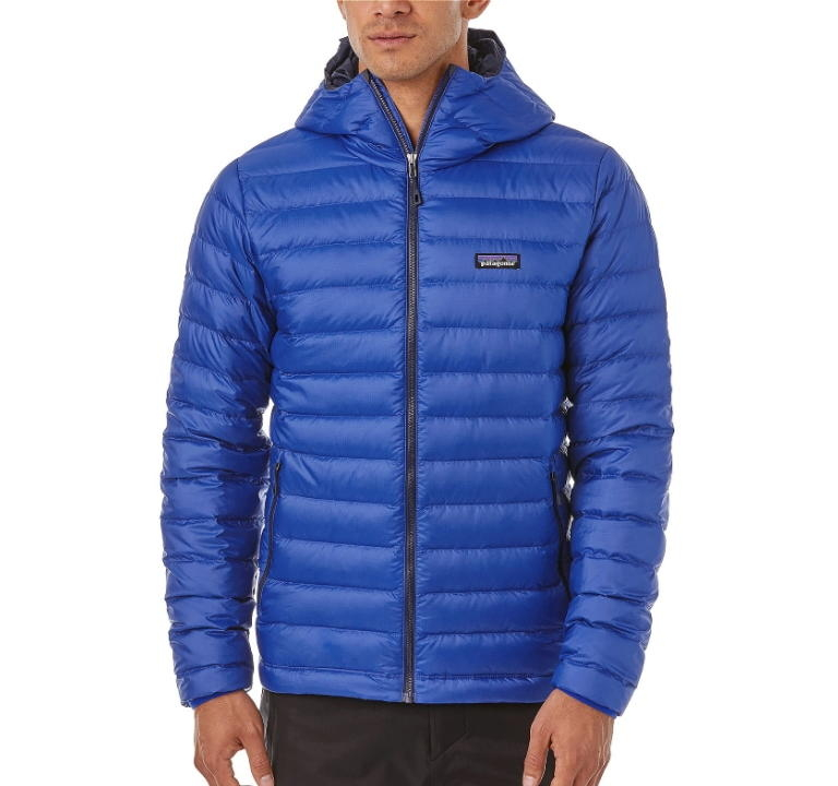 Kurtka Patagonia Down Sweater Hoody - viking blue - przód