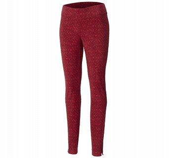 Legginsy damskie Columbia Glacial Fleece Printed Legging