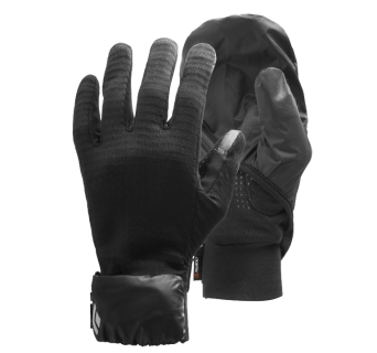Rękawiczki Black Diamond Wind Hood GridTech Gloves