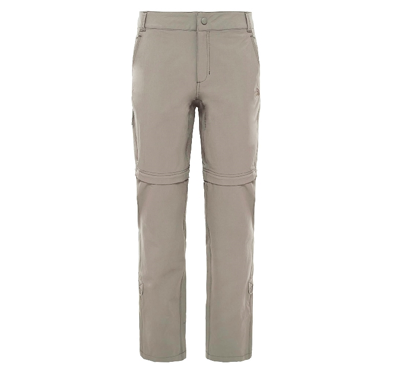 Spodnie damskie The North Face Exploration Convertible Pant - dune beige