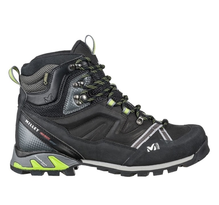 Buty Millet High Route GTX - charcoal/acid green