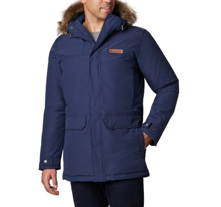 Kurtka Columbia Marquam Peak Parka - collegiate navy