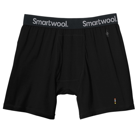 Bokserki Smartwool Microweight Boxer Brief '18 - black