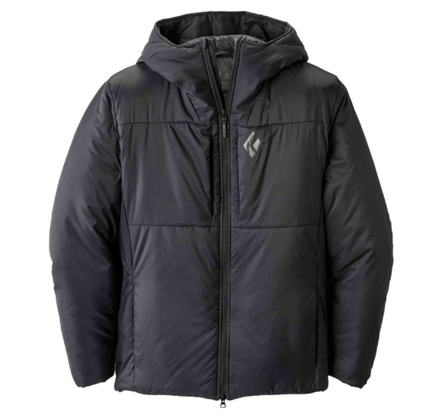 Kurtka Black Diamond Stance Belay Parka - black