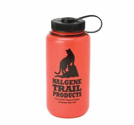 Butelka Nalgene Wide Mouth HDPE 1000 ml - red
