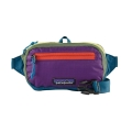 Saszetka Patagonia Ultralight Black Hole Mini Hip Pack '20 - patchwork:steller blue