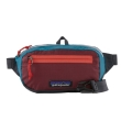 Saszetka Patagonia Ultralight Black Hole Mini Hip Pack '20 - patchwork/roamer red